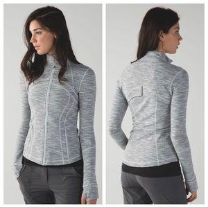 Lululemon Define Jacket Size 4 Wee Space Silver